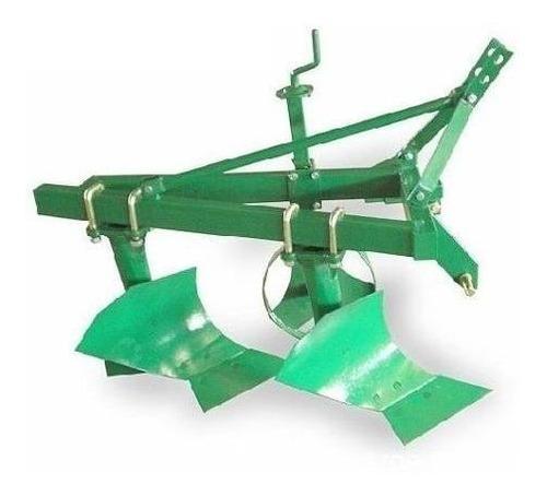 arado vertedera levante tractor agricola 2x20 cm tecnodeliv