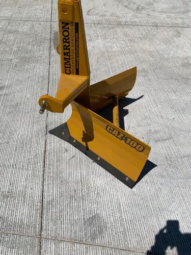 arado zanjeador 1 mt cimarron modelo caz-100