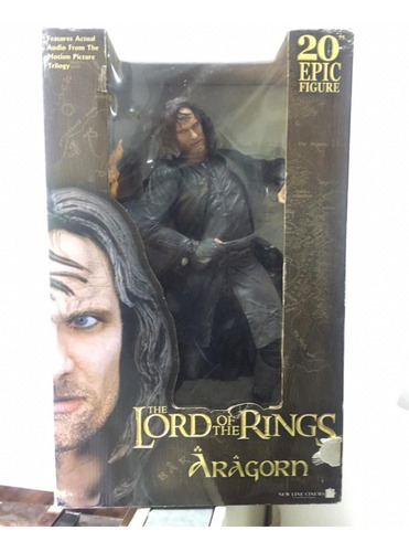 aragorn 20  pulgadas (the lord of the rings ) neca