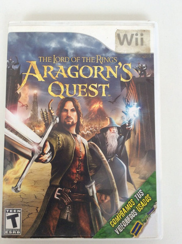 aragorn's quest - the lord of the rings - nintendo wii