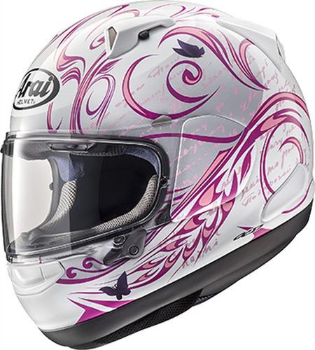 arai cuántica x estilo de casco de la motocicleta de color