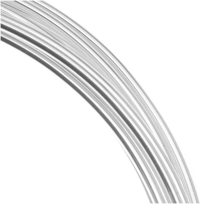 Arame alem o de cobre para bijuterias banhado a prata r for Beadsmith craft wire 16 gauge