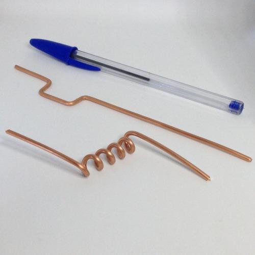 arame de cobre (fio nú) diâmetro 2,40mm (1kg=25metros)