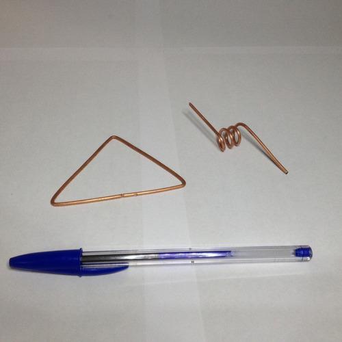 arame de cobre (fio nú) diâmetro 2mm (500g=18,5metros)