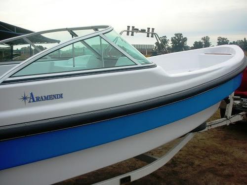 aramendi marlin 620 open con mercury 50hp y trailer