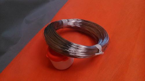 arames inox para artesanatos, laminável - rolo com 3kg
