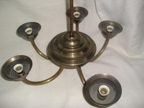 araña bronce antigua