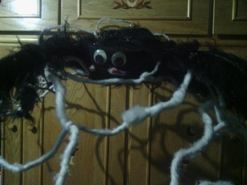 araña de adorno para fiesta de halloween