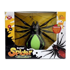 Araña Gigante Camina, Arrastra, Hace Sonidos Efectos Cuotas