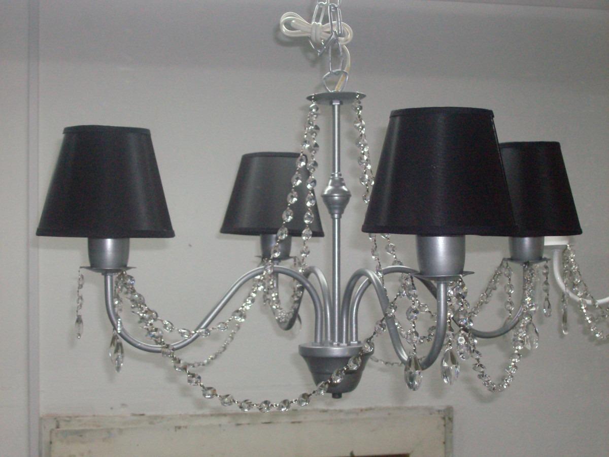 Lampara Caireles 4 Con Colgante Araña De Luces dCQrxthBso
