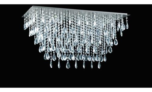 araña moderna de techo lampara plafon colgante magnalum