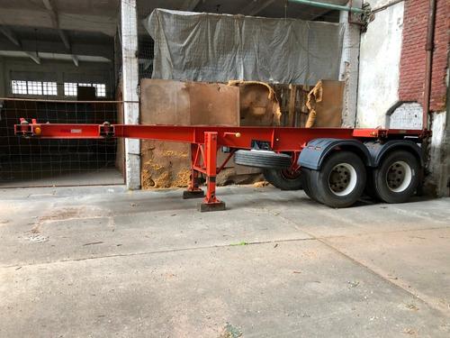 araña porta contenedores de 20 pies