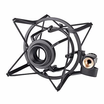 araña takstar sh-100 shock mount grande microfono condenser