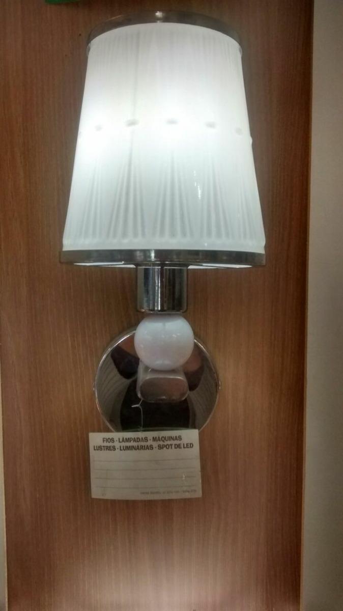 Arandela Abajur Parede Luminaria Quarto Sala Barata Oferta R 92  -> Abajur De Parede Para Sala