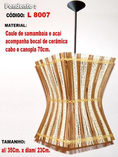 arandela artesanal - ar7007