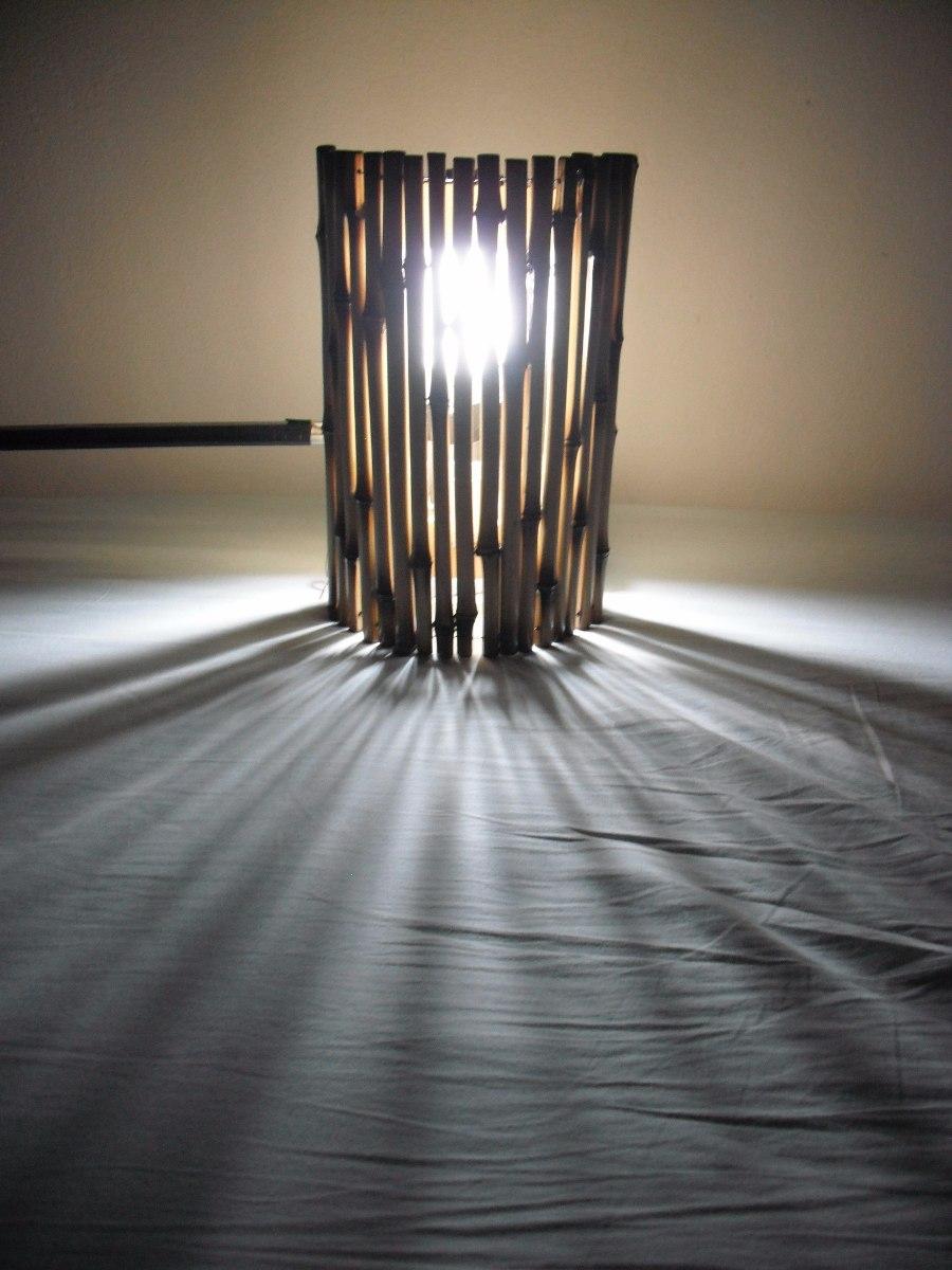 Artesanato Em Florianopolis Sc ~ Arandela De Bambu Luminária Decoraç u00e3o Jardim Praia Sítio R$ 55,00 em Mercado Livre