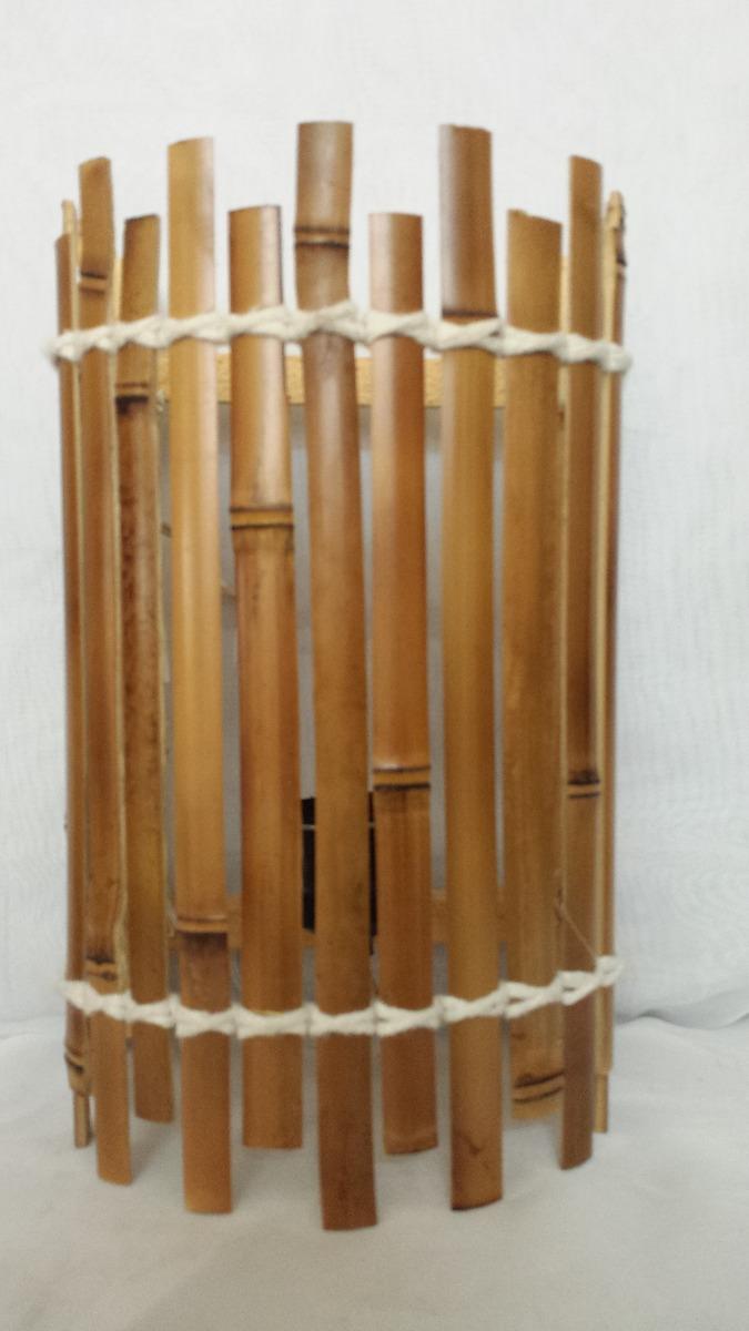 Artesanato Em Florianopolis Sc ~ Arandela De Bambu Luminária Parede Decoraç u00e3o Luz 29x18x15 Cm R$ 39,90 em Mercado Livre