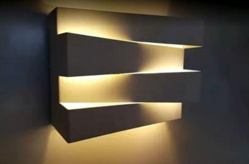 arandela de efeito,p/hall ,escada,,lavabo,corredor,