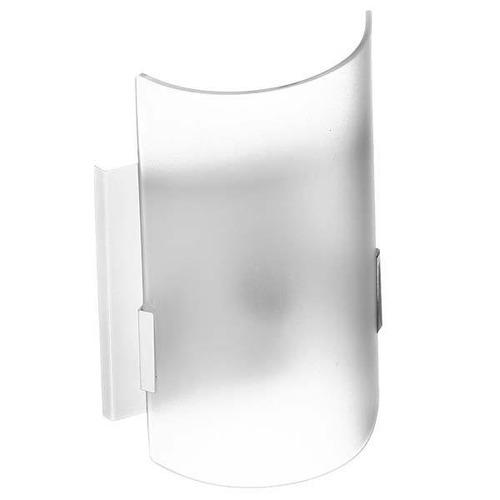 arandela decorativa ema lustres retangular e vidro branco