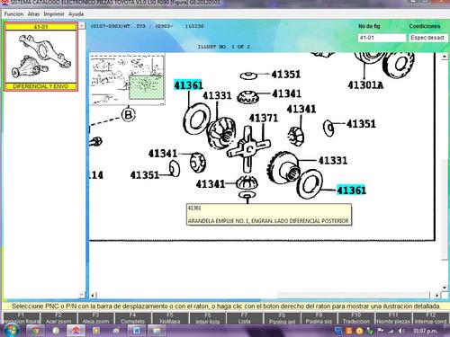 arandela engranaje diferencial dyna machito 4136160890