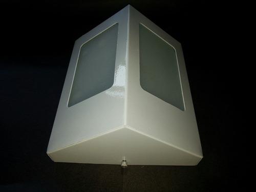 arandela externa branca interno triangular