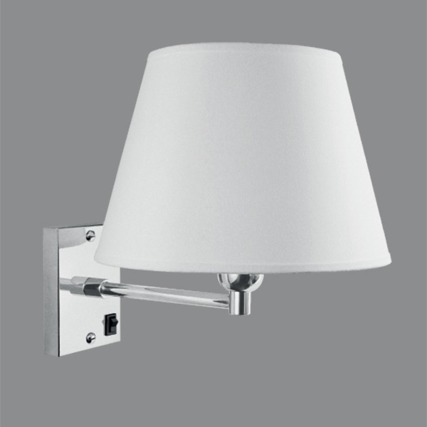 Arandela Luminária Cônica Moderna Parede Quarto Gda R  ~ Luminarias Para Leitura Quarto