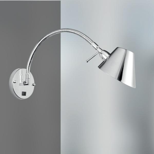 Arandela Luminária Flexível Chapéu Parede Quarto P699 Gda  ~ Luminarias Para Leitura Quarto