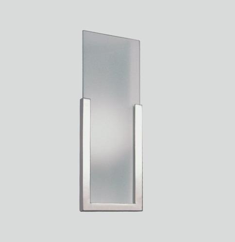 arandela luminária painel vidro moderna parede p903 gda