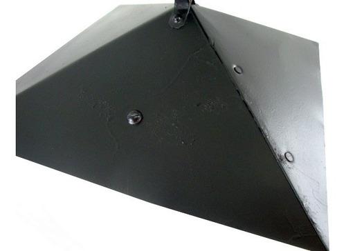 arandela luminária rústica de parede c/ corrente