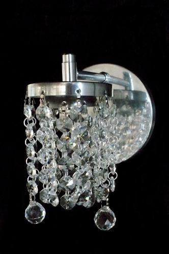arandela vidro crital aluminio complementi ar114