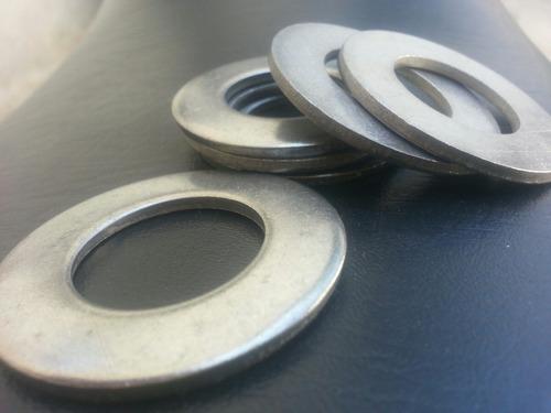 arandela1  pulgada  en acero inoxidable  x20 unidades