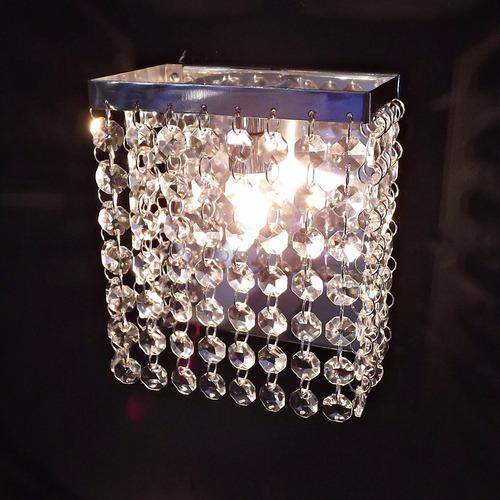 arandelas de cristal  egípcios lâmpada de brinde