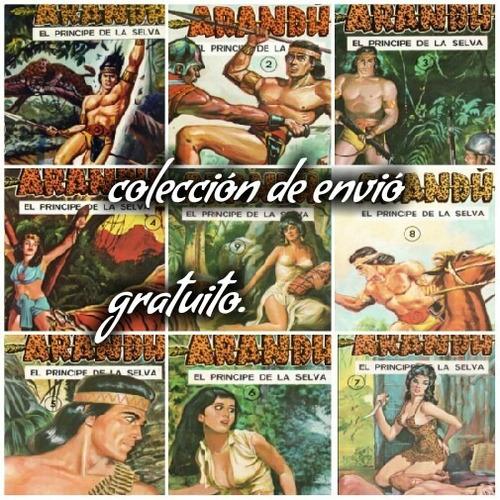 arandu el principe de la selva coleccion digital completa