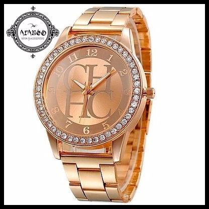 Araneo Reloj Carolina Herrera Ch Con Brillantes