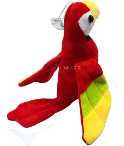 arara de pelúcia p - aves, papagaio