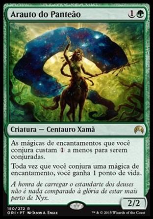 arauto do panteão / herald of the pantheon - magic origins