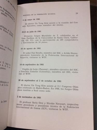 arbitraje de tae kwon do. john panchamé. reglamento oficial