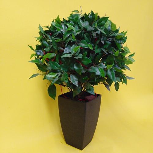 árbol artificial ficus bola. descuento del 50%. envío gratis
