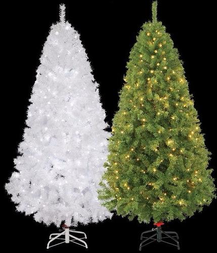 arbol d navidad artificial vermont 300 luces led 2.20 mts
