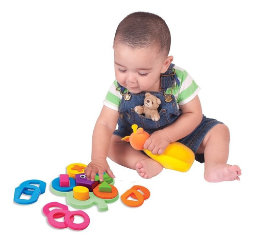arbol de ensarte de figuras para bebé sonaja