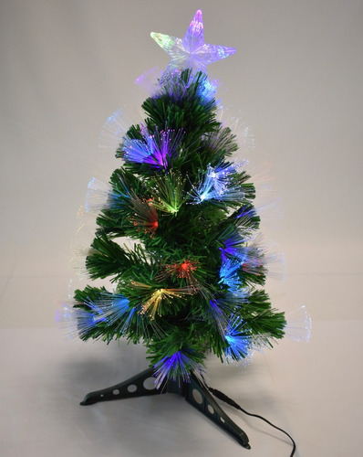arbol de fibra optica con luz led 60 cm envio gratis