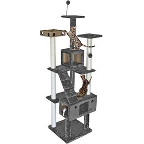 Arbol De Gato Furhaven Mascota | Tiger Tough Cat Tree House