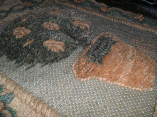 arbol de la vida adorno colgante tejido bordado tapiz rustic