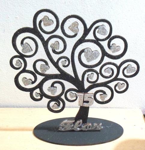 arbol de la vida central con nombre 30 cm