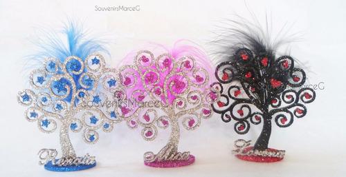 árbol de la vida con estrellas y corazones souvenir