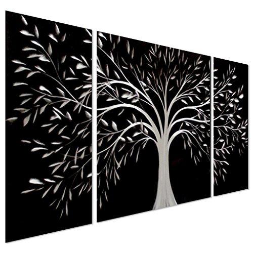 árbol De La Vida En Blanco Y Negro Metal 866599 En Mercado Libre