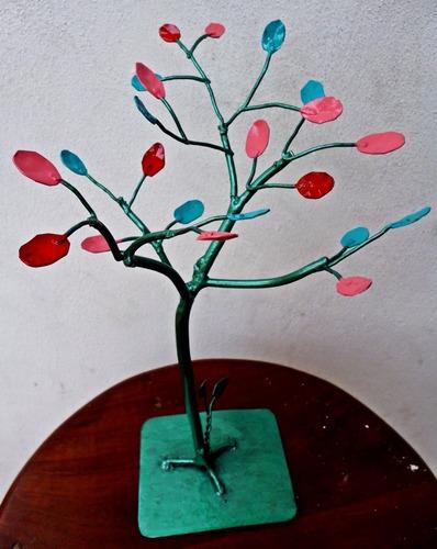 árbol de la vida en hierro! ideal souvenir, centro de mesa!
