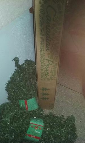 árbol de navidad 1.80mts + guirnaldas