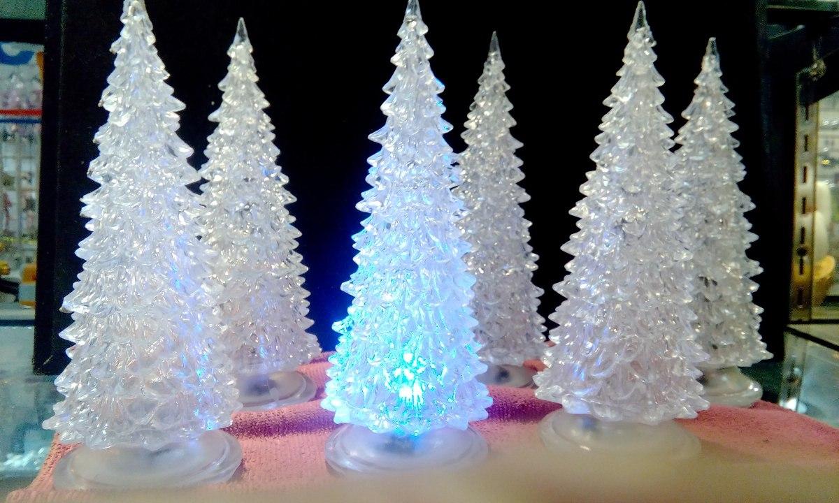 Arbol de navidad acrilico resistente con luces - Luces arbol de navidad ...