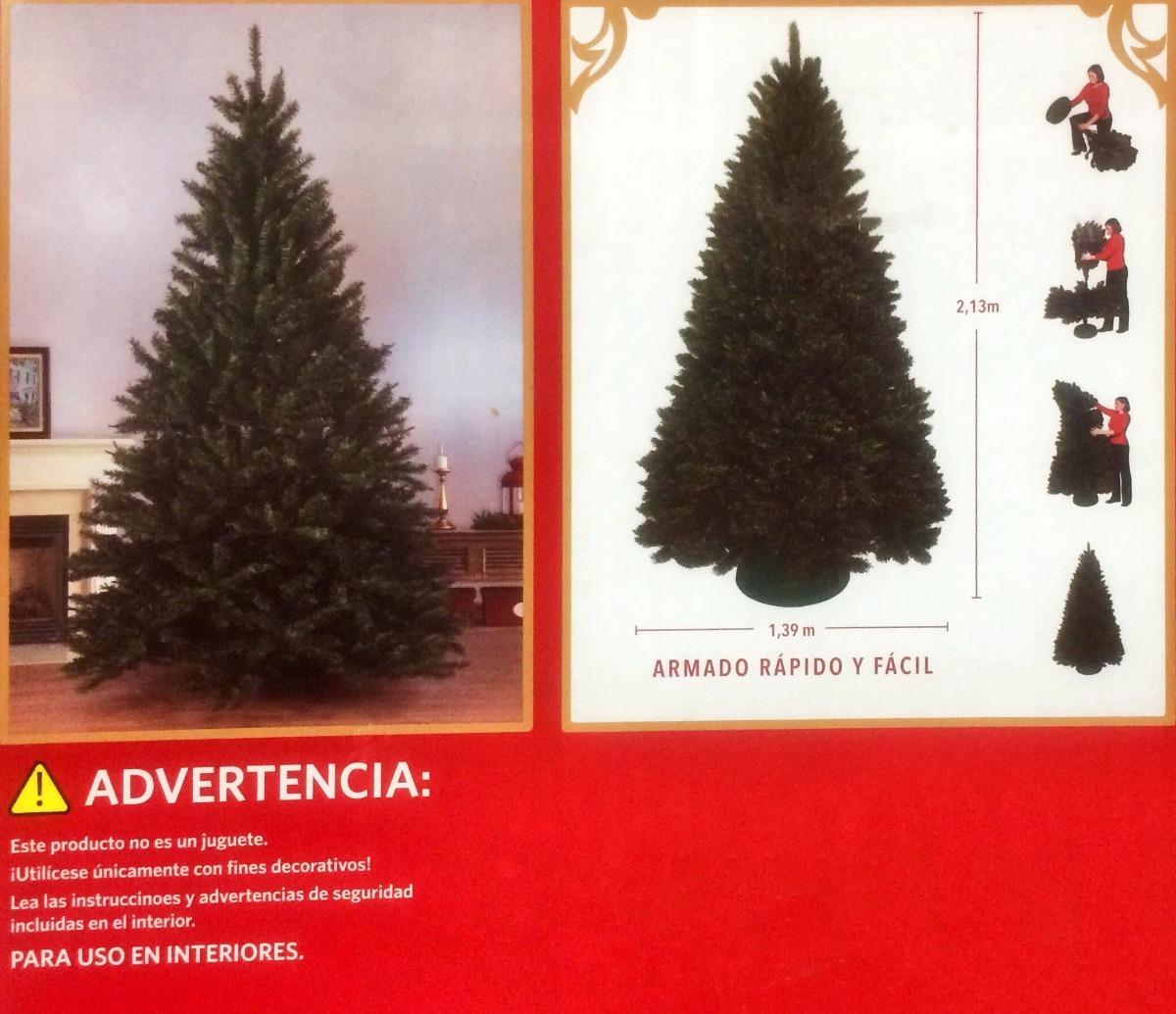 37055d8b39a1b árbol de navidad artificial 213cm 1414puntas. Cargando zoom.